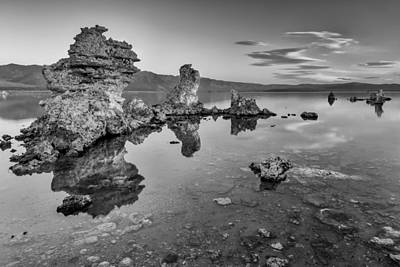 Clear And Calm II Print by Jon Glaser