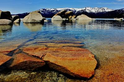 Photograph - Clear Blue Tahoe by Benjamin Yeager