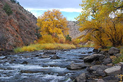 Photograph - Clear Creek Canyon Autumn by Cascade Colors