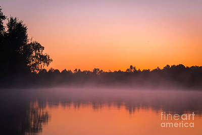 Photograph - Clear Creek Fog by Larry McMahon