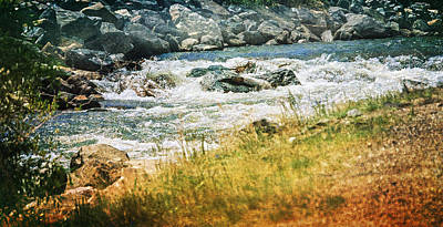 Photograph - Clear Creek by Judy Hall-Folde