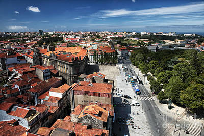 Photograph - Clear Day In Porto by John Rizzuto