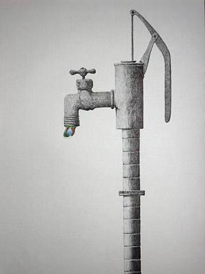 Clear In The Air Art Print by A  Robert Malcom