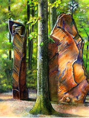 Megalith Painting - Clear Morning Light by Sophia Shultz