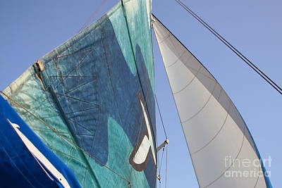 Clear Skies And Full Sails Art Print by Jennifer Apffel