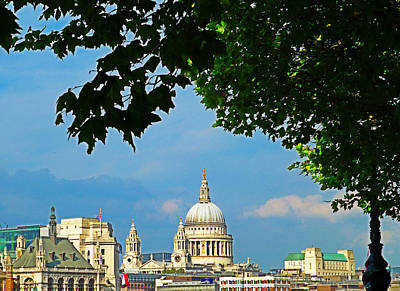 Clear Sky In London Art Print by Connie Handscomb