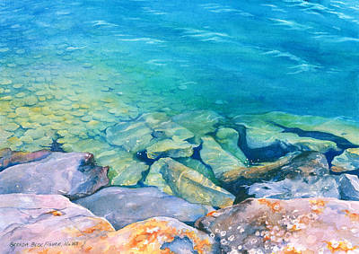 Painting - Clear Water by Brenda Beck Fisher
