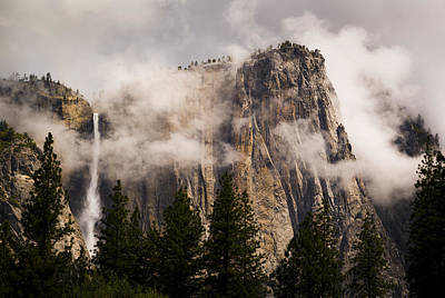 Photograph - Clearimg Storm At Yosemite Point And Yosemite Falls by Joe Doherty