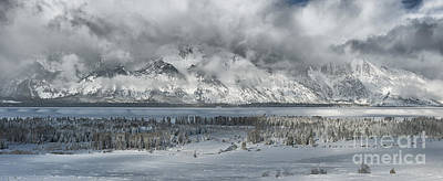 Photograph - Clearing Skies In The Grand Tetons by Sandra Bronstein