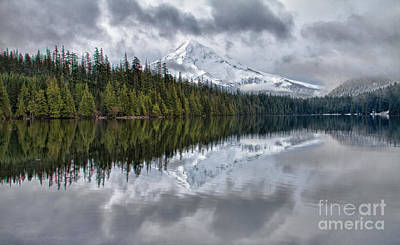 Photograph - Clearing Storm Over Mt. Hood by Stuart Gordon