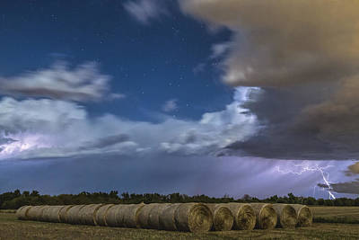 Art Print featuring the photograph Clearing Storm by Rob Graham
