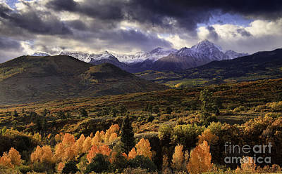 Clearing Storm The Sneffels Range Art Print