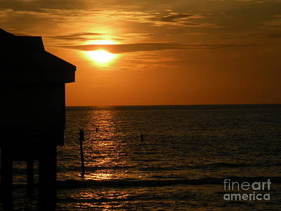 Photograph - Clearwater Beach Sunset by Lora Duguay