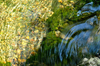 Photograph - Clearwater Falls Series 11 by Teri Schuster
