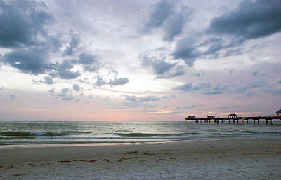 Photograph - Clearwater Fishing Pier by Beverly Stapleton