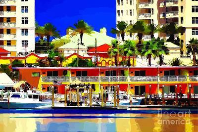 Clearwater Marina Art Print
