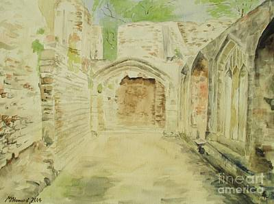 Twelfth Painting - Cleeve Abbey Cloister by Martin Howard