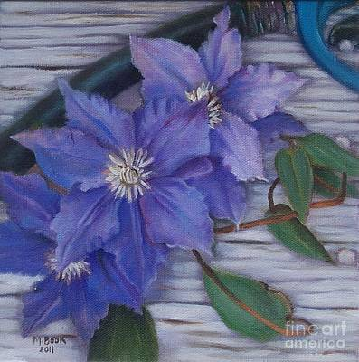 Painting - Clematis by Marlene Book