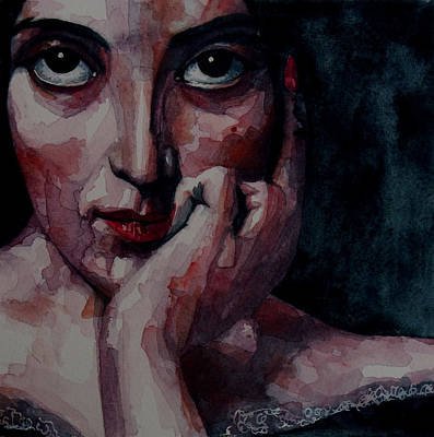 Gaze Painting - Clementine by Paul Lovering