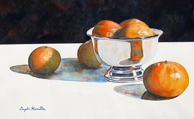 Painting - Clementines by Daydre Hamilton
