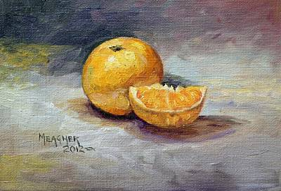 Tangerine Painting - Cuties by Spencer Meagher