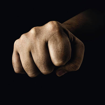 Fist Photograph - Clenched Fist by Ktsdesign
