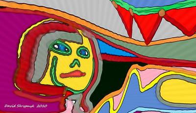 Digital Art - Cleo Waiting by David Skrypnyk