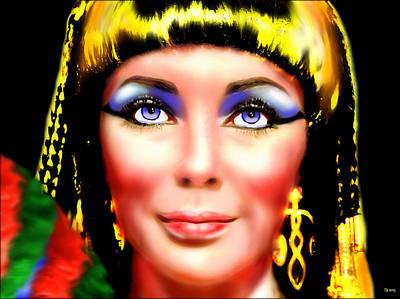Elizabeth Taylor Painting - Cleopatra  by Daniel Janda
