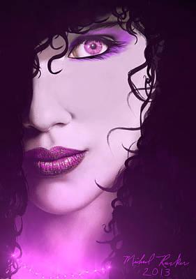 Digital Art - Cleopatra by Michael Rucker