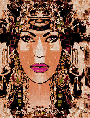 Cleopatra Art Print by Natalie Holland