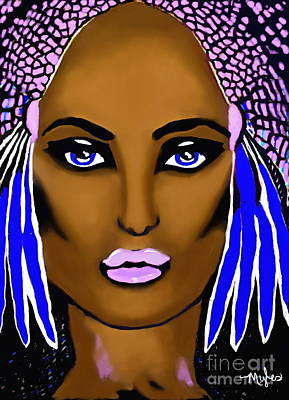 Painting - Cleopatra Queen Of Egypt #2 by Saundra Myles