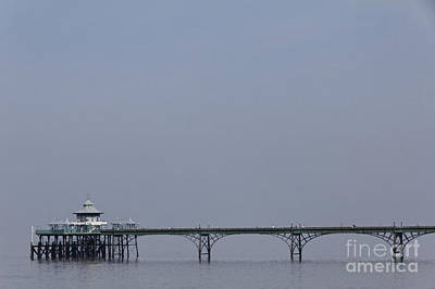 Clevedon Photograph - Clevedon Pier In Somerset England by Robert Preston