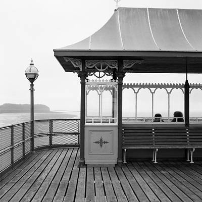 Photograph - Clevedon Pier Somerset by Christopher Rees