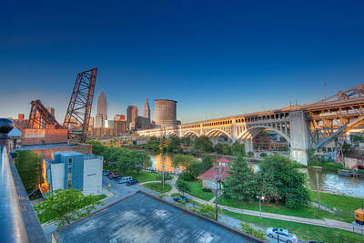Photograph - Cleveland Abstract Hdr by John Magyar Photography