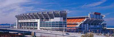 Cleveland Browns Stadium Cleveland Oh Art Print by Panoramic Images