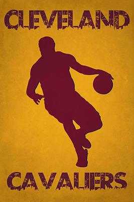 Cleveland Cavaliers Lebron James Art Print by Joe Hamilton