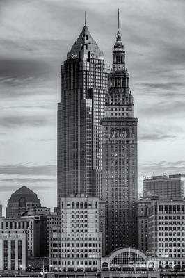 Photograph - Cleveland Skyscrapers At Dawn II by Clarence Holmes
