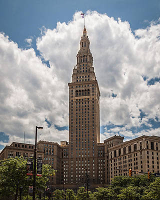 Photograph - Cleveland Terminal Tower by Dale Kincaid