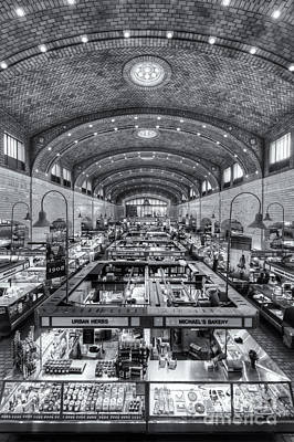 Photograph - Cleveland West Side Market Iv by Clarence Holmes