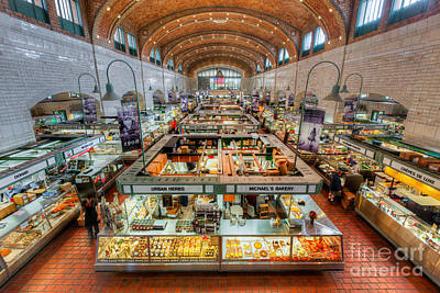 Photograph - Cleveland West Side Market V by Clarence Holmes