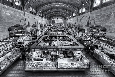 Photograph - Cleveland West Side Market Vi by Clarence Holmes