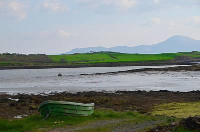 Rowboat Digital Art - Clew Bay County Mayo Ireland by Bill Cannon