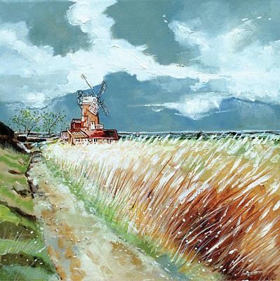 Cley Windmill Art Print by Stuart Roy