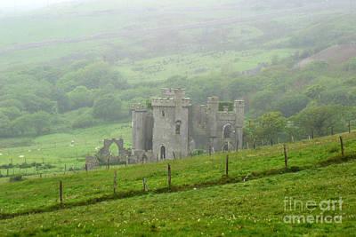 Photograph - Clifden Castle Connemara Ireland by Butch Lombardi