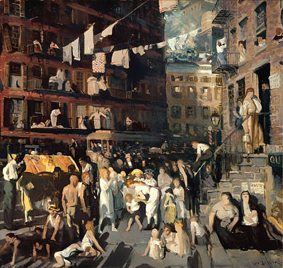 Tenements Painting - Cliff Dwellers by Mountain Dreams
