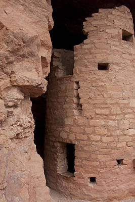 Photograph - Cliff Dwelling by Scott Sanders