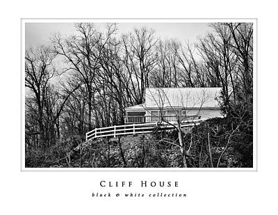 Photograph - Cliff House Black And White Collection by Greg Jackson