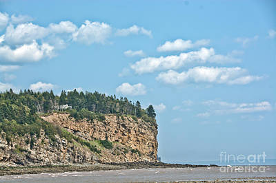 Photograph - Cliff On The East Coast by Cheryl Baxter