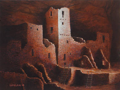 Painting - Cliff Palace by Jerry McElroy