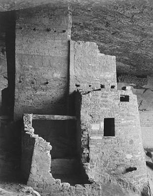 Digital Art - Cliff Palace Mesa Verde National Park Colorado by Ansel Adams